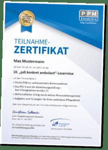 Teilnahme-Zertifikat