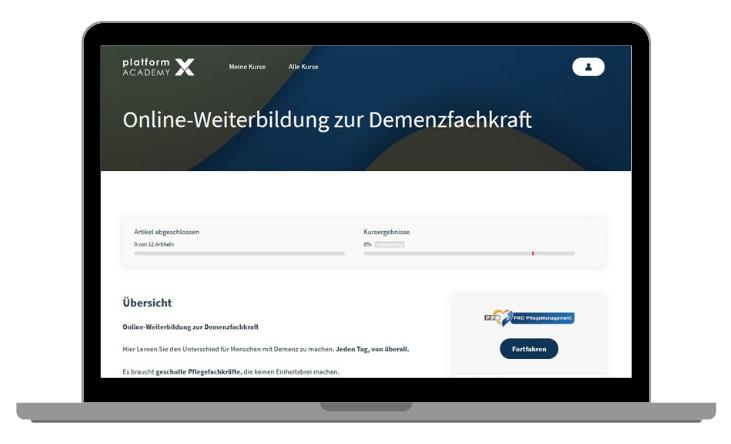 Online-Fortbildung Demenzfachkraft